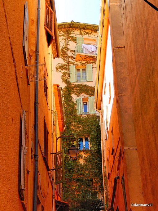 The Old Town of Cannes