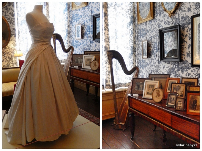 Dress inspired by Dior room 001 - The history of a Fashionable Family in Amsterdam