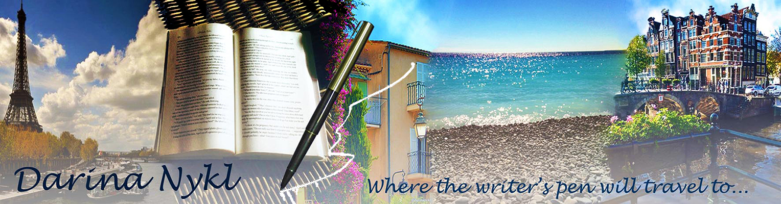 Darina Nykl | Where the writer's pen will travel to…