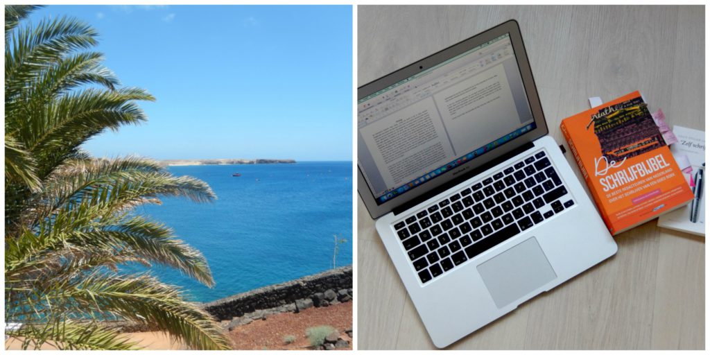 Keeping Up Writing on Holiday
