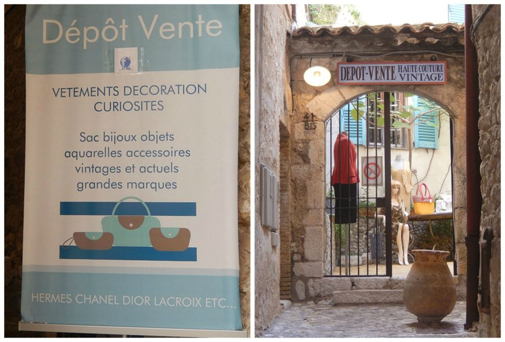 Vintage Boutique in Saint Paul de Vence