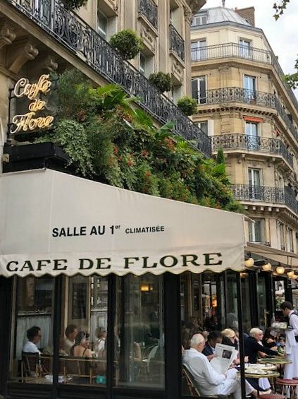 15 Feitjes over Café de Flore in Parijs